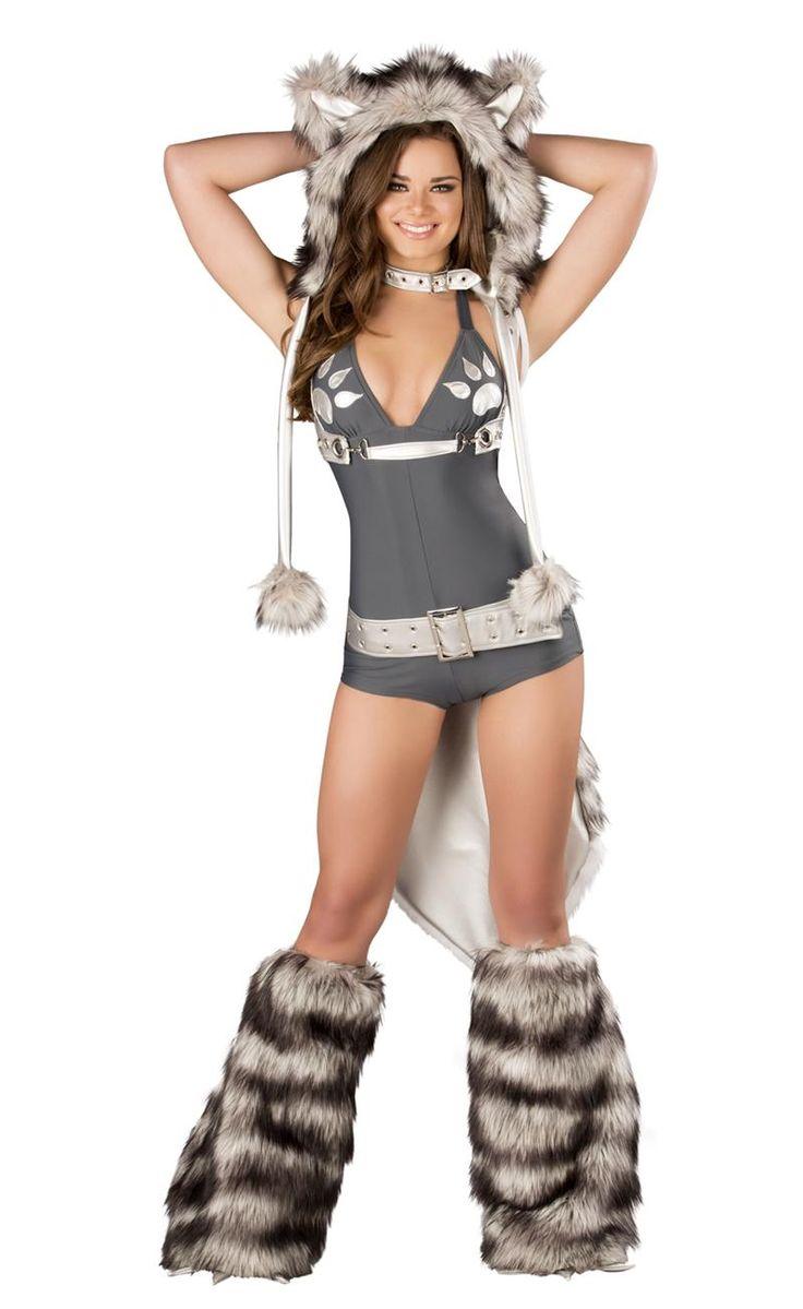 Wolf Romper By J Valentine  Sexy Wolf Costume, Womens Big -3373