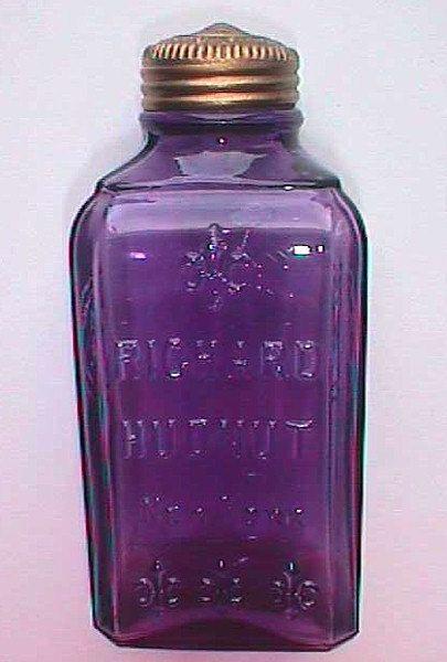 Antique Purple Glass Bottles