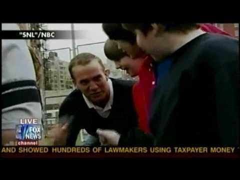 """2/5/10 """"Spend time with your kids so Peyton Manning doesn't""""...SNL skit-Peyton Manning and The United way"""