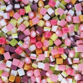 Kleine lekkere snoepjes.