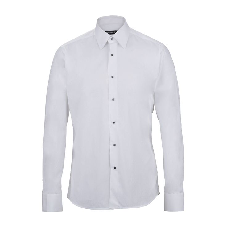 One thing can´t be missing from men´s wardrobe: a clear and elegant shirt like this one from #KarlLagerfeld