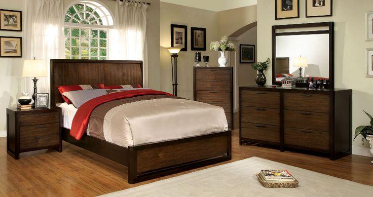 Corsica 4 Pcs Bedroom Sets - CM7608