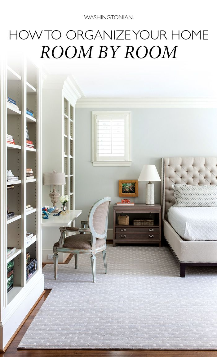 How To Organize Your Home Room By Room Organizing