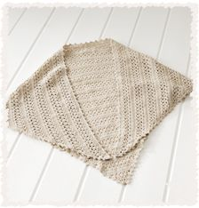 かぎ針編みの 三角ショール | 手づくりレシピ | クロバー株式会社
