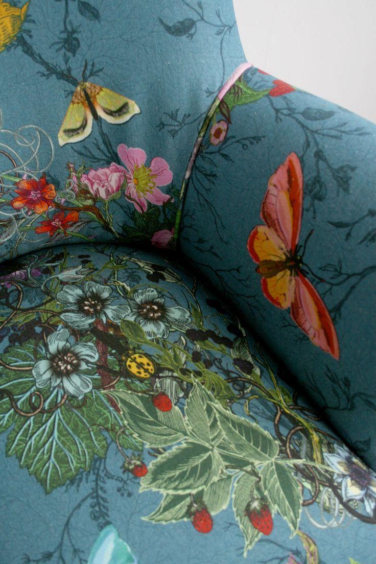 Bloomsbury Garden Fabric Timorous Beasties Design Fabrics Home Decor Fabric Furniture