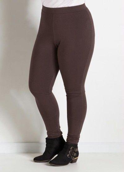 Calça legging montaria Plus Size                              …