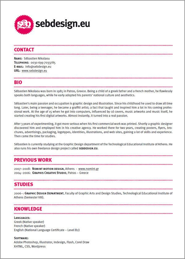 10  images about resume  u0026 portfolio design on pinterest