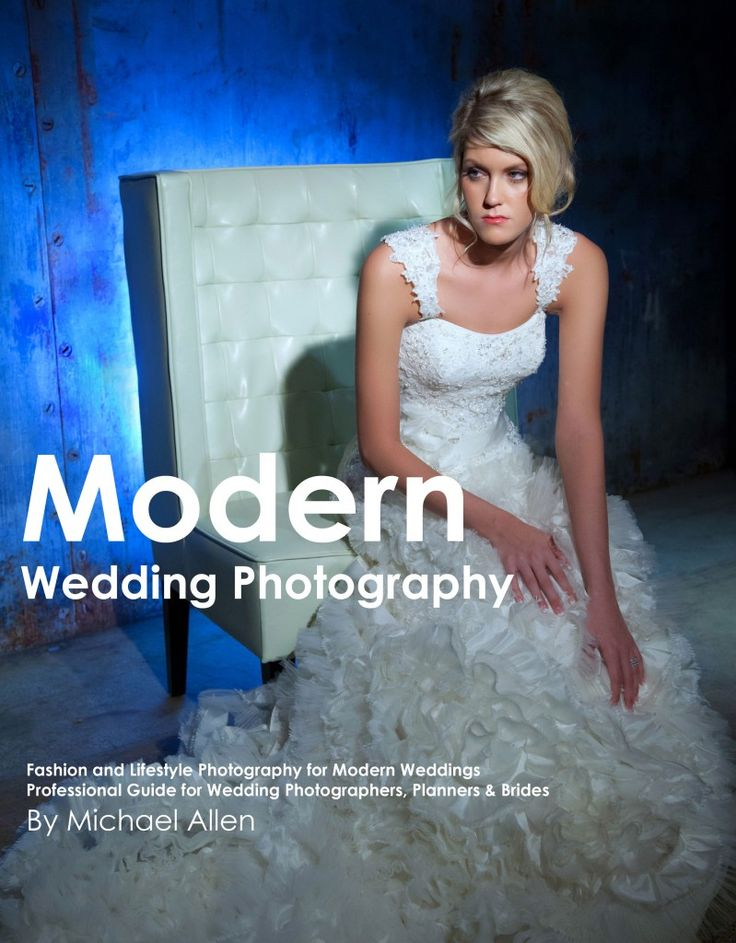 Here's my book for aspiring & professional photographers on shooting Modern Weddings!