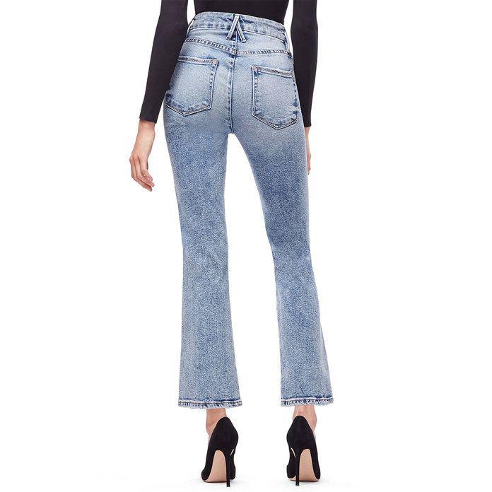 Curve Essentials Women/'s Plus Size Blue Denim Straight Leg Jeans