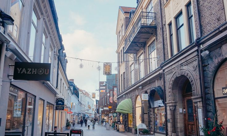 WALK- Shopping Street 3 | Scandinavia Standard