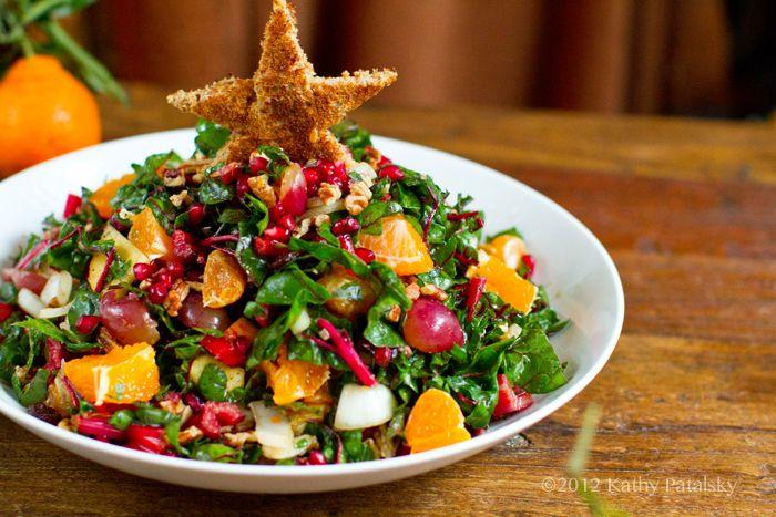 Christmas Tree Salad Recipe