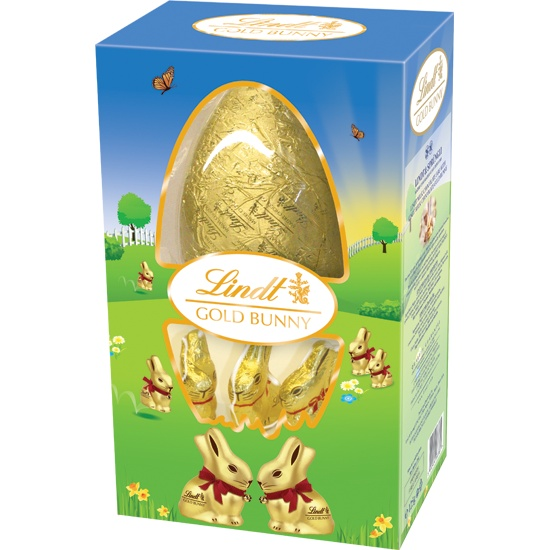 Gold Bunny Egg 125g #WinEasterChocolateWithLindt