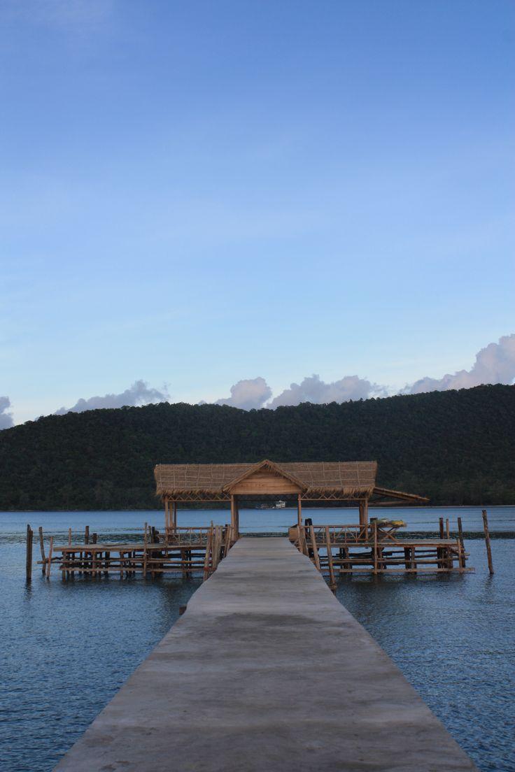 Cambodia. Remote Island. KC Pix