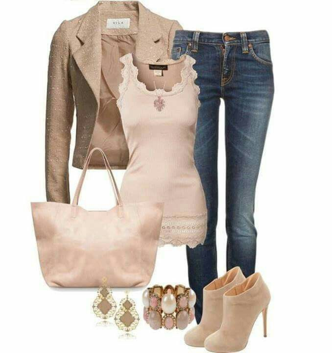 Scalloped hem and neck. LOVE those booties!