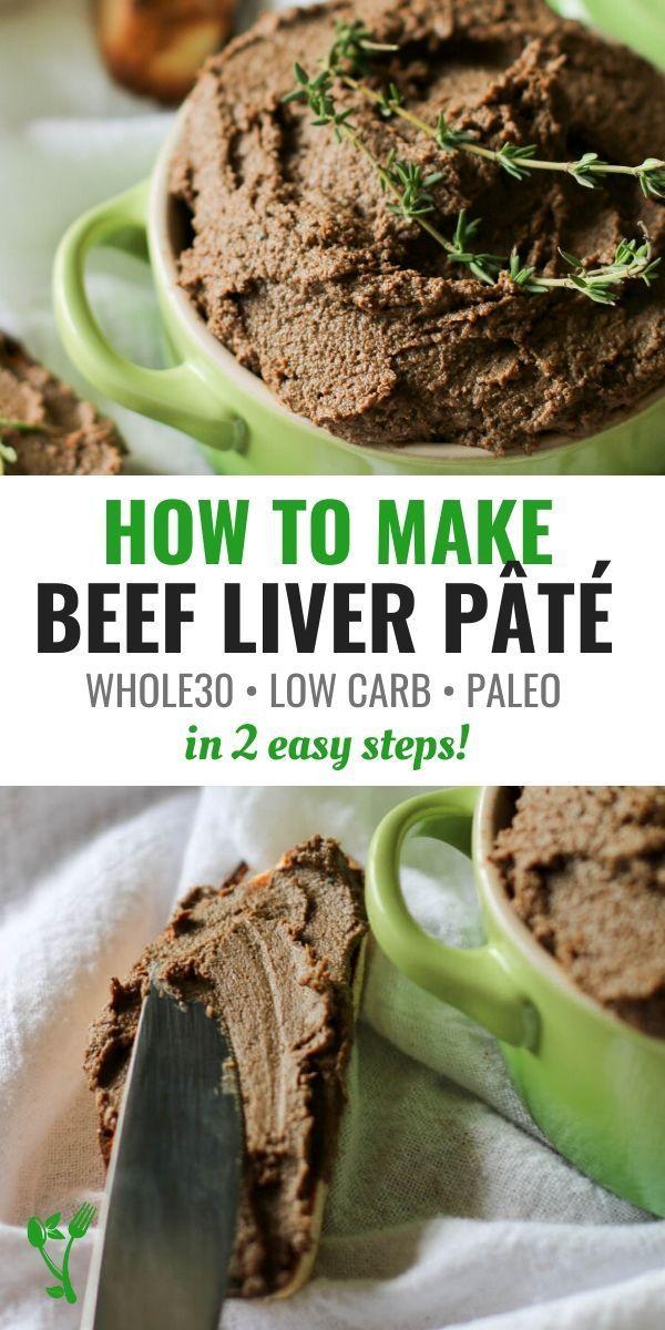 Easy Beef Liver Pate Recipe Keto Paleo Whole30 Gaps Prepare Nourish Recipe Liver Pate Recipe Liver Recipes Liver Pate Recipe Beef