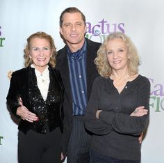 Hayley Mills and her sister Juliet Mills, with Juliet's husband [actor Maxwell Caulfield -- yes! that's 'Michael' from GREASE 2] :)