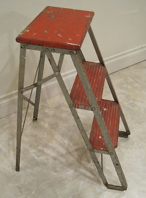 17 best images about stools and step ladders on pinterest antiques industrial metal and - Ladder plant stand plans free ...