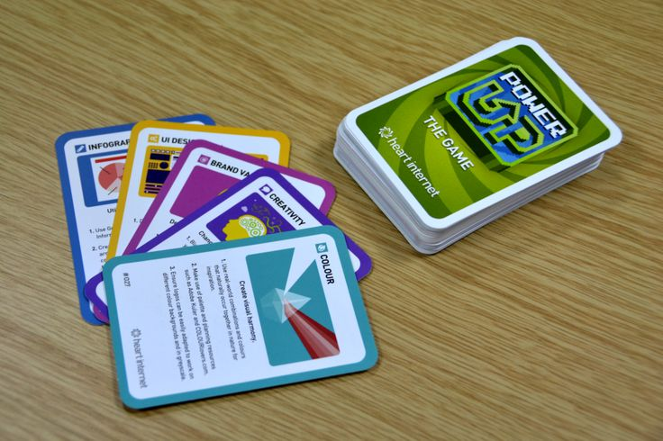 Power Up: The Game - Download the digital version and register to receive a pack at https://www.heartinternet.uk/cards