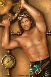 Steampunk Hunks: Deviant Art, Hunks Vintagevamps, Character Profiles, Crayonmaniac Deviantart Com, Beau Hunks, Art Reference, Steampunk Characters, Steampunk Hunks Mmmmmm