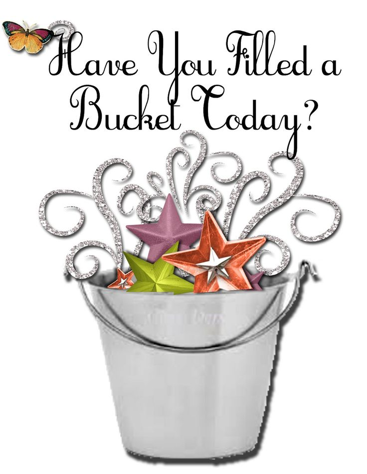 Relief Society: Fill Your Bucket