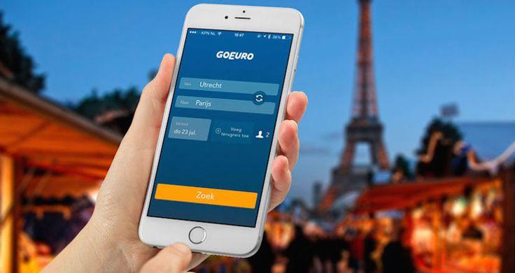 GoEuro, compara precios de billetes de avión, tren y autobús desde el iPhone - http://www.actualidadiphone.com/goeuro-comparador-precios-avion-tren-autobus-para-iphone/