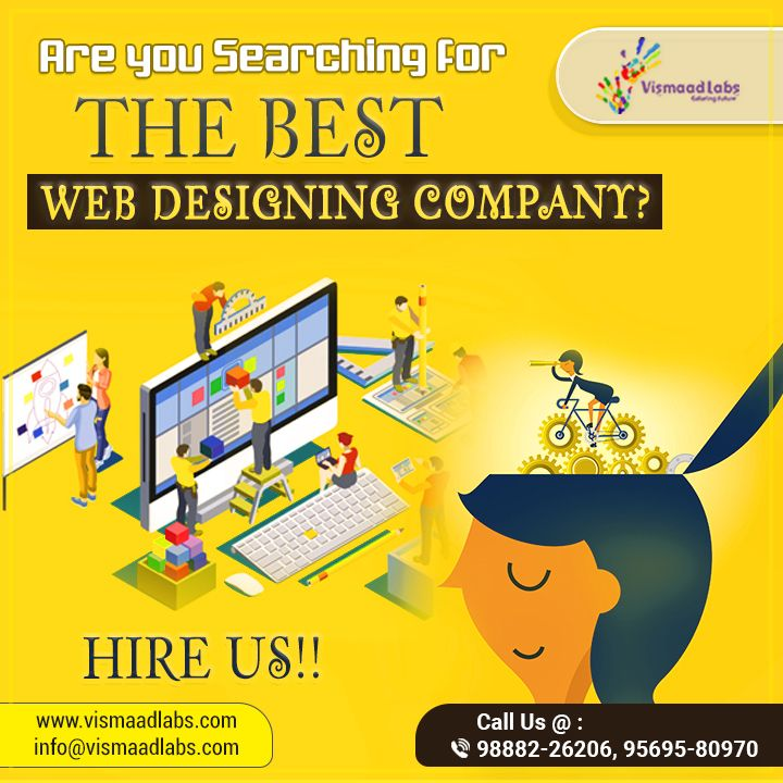 Are You Searching For The Best Web Designing Company Then Hire Vismaad Labs Which Is A Reputed Company In Freelance Web Design Web Design Freelancer Website