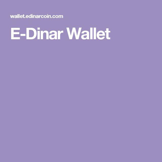 E-Dinar Wallet