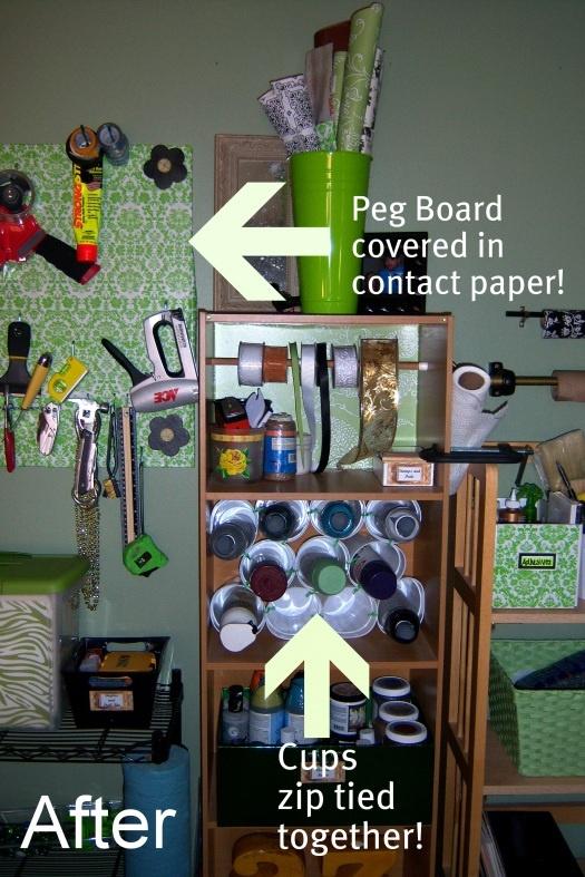 Craft Room Organizing 525 x 787