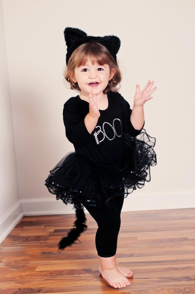 ava says she wants to be cat woman for halloween this will have to work for her - Scary Cat Halloween Costume