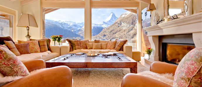 Chalet Grace is built to the highest standard, featuring floor to ceiling windows on all three levels, and a dramatic vaulted interior. Chalet Grace already has a reputation as one of the most luxurious and spectacular chalets in Zermatt. - http://ikh.villas
