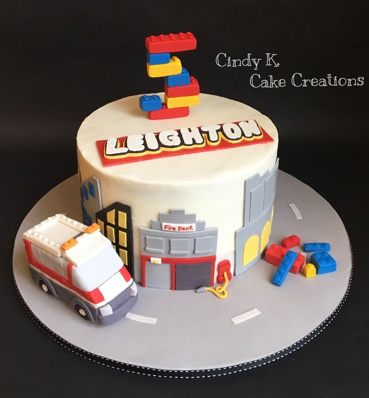 Lego city cake Made by: cindy k. Cake Creations