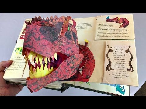 "The Definitive Pop-Up Book ""Encyclopedia Prehistorica Dinosaurs"" by Robert Sabuda & Matthew Reinhart - YouTube"