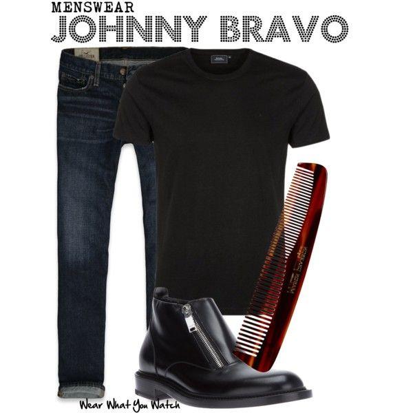 Inspired by Jeff Bennett (voice) as Johnny Bravo. :D