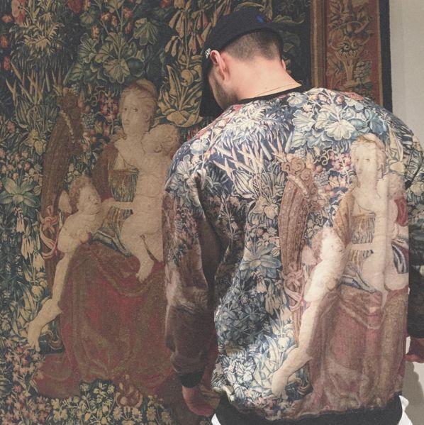 Noir/Noir, ou quand l'art s'invite sur les vêtements
