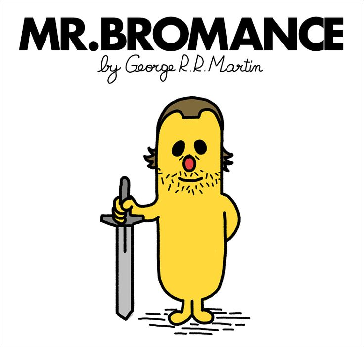 Mr. Men and Little Miss Game of Thrones characters - Mr.Bronn
