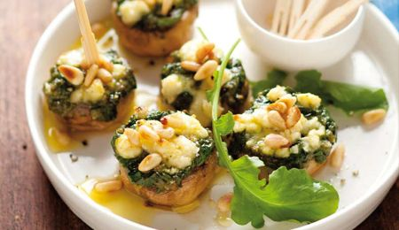 Mushroom Canapes - must try this