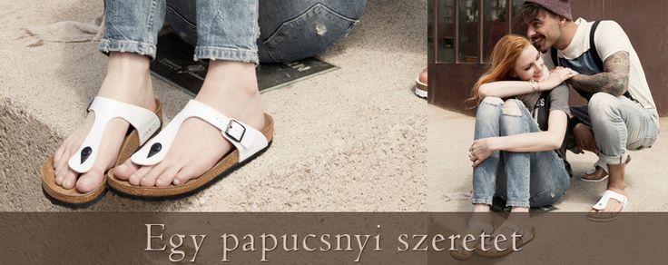 Birkenstock nyári szandálok és papucsok.  http://www.komfortlabbeli.hu/