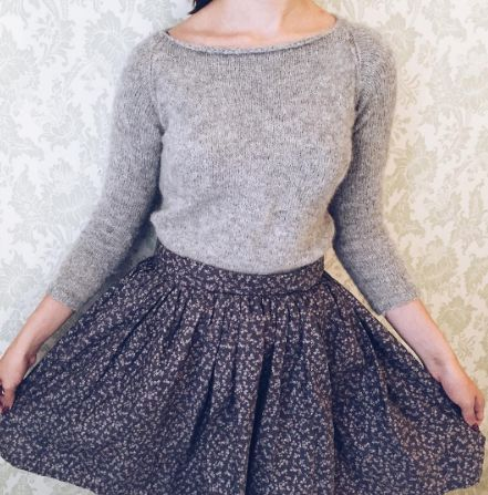 Maria's Clemence skirt - sewing pattern in Love at First Stitch