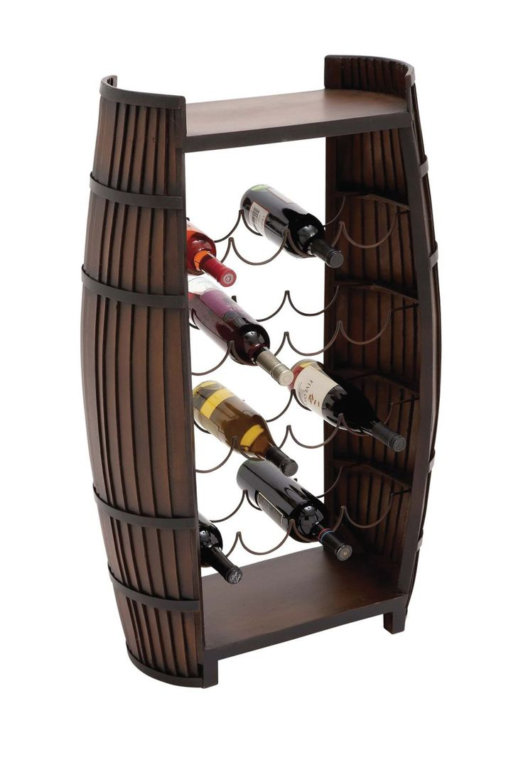 wood metal wine rack on hautelook - Metal Wine Rack