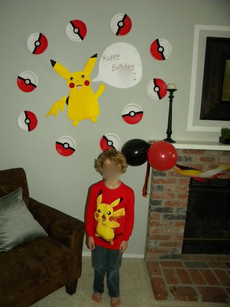 Mejores 72 im genes de pokemon birthday en pinterest - Ideas 18 cumpleanos chico ...