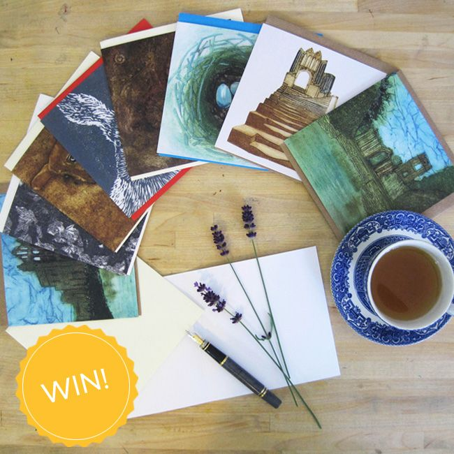 #WIN an amazing set of cards with original hand printed design from the very talented artist, Jane Duke! Enter over on the Create Facebook page facebook.com/create