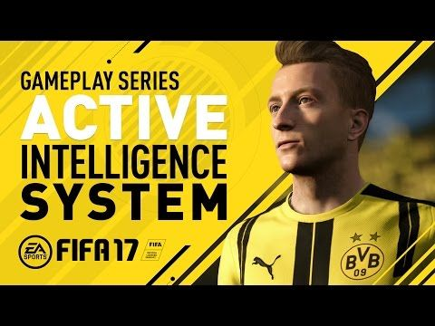 http://www.fifa-planet.com/fifa-17-gameplay/fifa-17-gameplay-features-active-intelligence-system-marco-reus-2/ - FIFA 17 Gameplay Features - Active Intelligence System - Marco Reus  Always making space and chances for himself and teammates, Marco Reus shows what FIFA 17's Active Intelligence System means on the pitch. This brand new gameplay mechanic introduces constant spatial analysis, increases activity off the ball, and changes the way players move, read, and... C