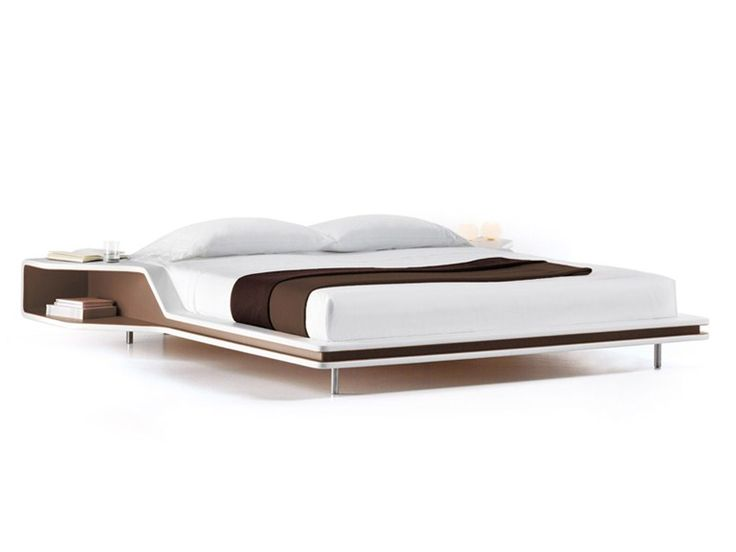 Imitation Leather Double Bed AYRTON Frighetto Line By ESTEL GROUP | Design  Ora  Ïto
