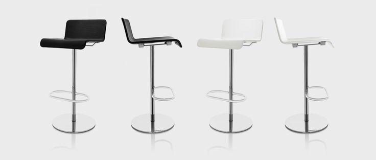 Millibar Barstool, designer Anya Sebton | Lammhults