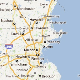 New England Beach Finder. could come in handy this summer