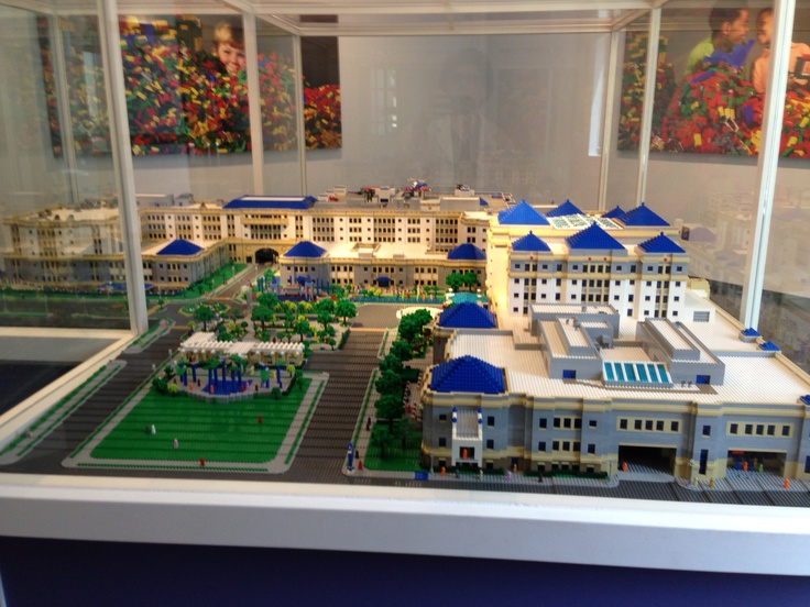 Lego Model Of Cook Children S Hospital In Fort Worth