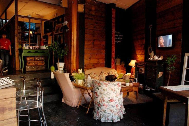 Cafe del jardín