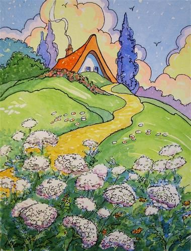 daily paintworks quotqueen annes lace storybook coquot by