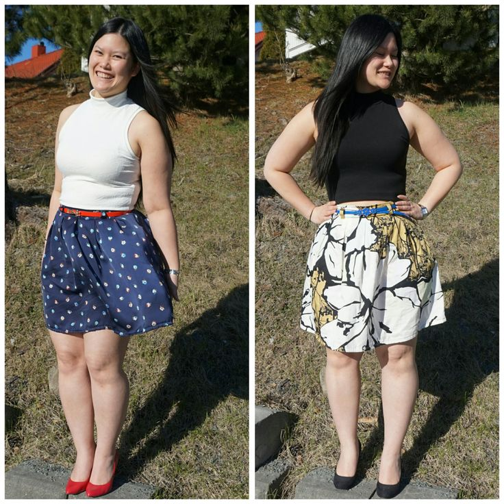 Snow white and trusty skirt (chardon skirt from Deer and Doe)