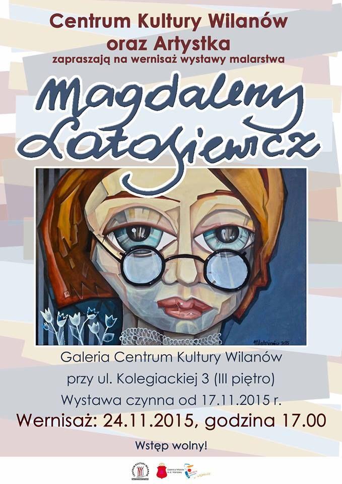 Wernisaż wystawy malarstwa Magdaleny Latosiewicz- studentki Obrazu Multimedialnego WSA! www.wsa.art.pl #sztuka #mulitmedia #obraz #projekt #grafika